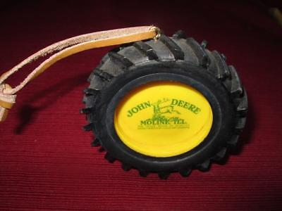 John Deere Tire Ornament Designed By Cood Implements Gently Used Condition
