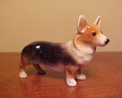 Hagen-Renaker Mini #3305 CORGI - Miniature Ceramic Dog Figurine