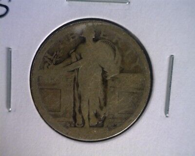 icoin2 - 1917-S Type-1 Bare Breast  Standing Liberty Quarter - DATELESS