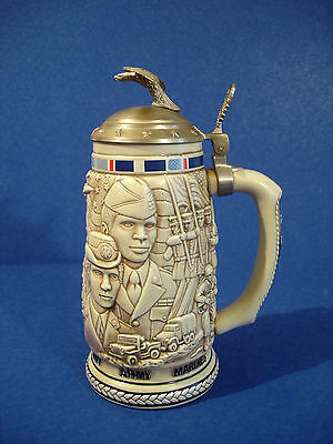1990 Avon Stein - Tribute To The American Armed Forces - # 252765