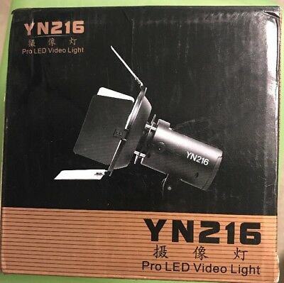Yongnuo YN-216 Pro LED Studio Video Light for Canon Nikon DV Camcorder DSLR US