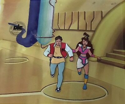 Captain N The Game Master  Original Animation Art Cel DIC ENT  SEAL