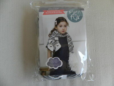 Passioknit Knitted Scarf Kit - Flynn the Fox