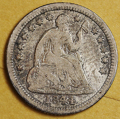 1844-o Liberty Seated Half Dime.  V.G.  95980