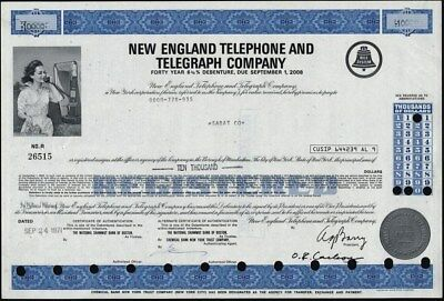 New England Telephone And Elegraph Co, 1971