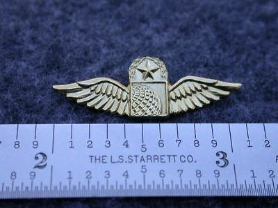 Continental Airlines  Capt. Tie Tack / Lapel Pin.   C/s