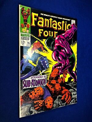 Fantastic Four #76 (1968 Marvel) Silver Surfer, Galactus appearance NO RESERVE