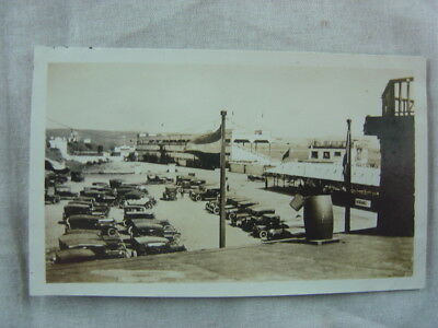 Vintage Car Photo 1920s Automobiles Race Track Parking lot 826