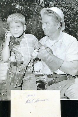 Karl Swenson  Mr Beevee On Andy Griffith Show Signature & In Role Photo