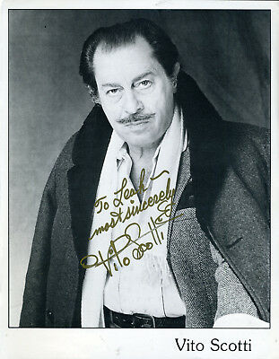 Vito Scotti Gypsie On Andy Griffith Show Signed Photo