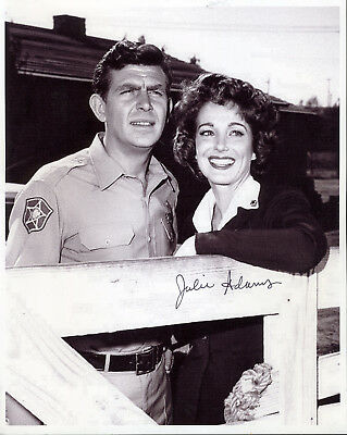 Julie Adams Andy Griffith Show Actress Signed Photo In Role From Show