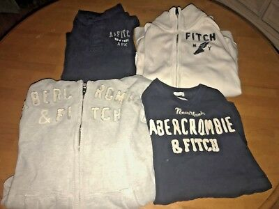 Lot of 4 Abercrombie & Fitch Sweatshirts & shirts - Size Adult S