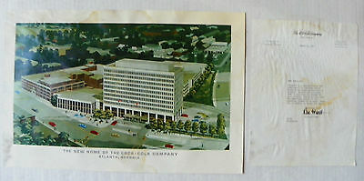 "1967 ""the New Home Of The Coca-Cola Company"" Reproduction Of Painting"