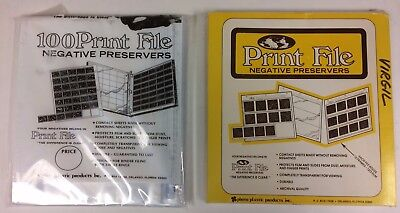 Print File 120-3B Negative Archival Preservers for 120 Film - 100 Pack