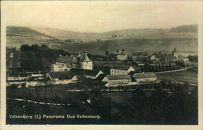Valkenburg Panorama Oud  Real Photo Portugal Picture Postcard