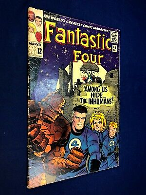 Fantastic Four #45 (1965 Marvel) 1st appearance of the Inhumans NO RESERVE