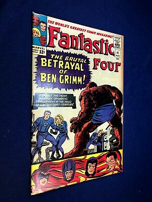 Fantastic Four #41 (1965 Marvel) Frightful Four appearance Silver Age NO RESERVE