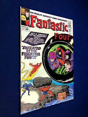 Fantastic Four #38 (1965 Marvel) Frightful Four appearance Silver Age NO RESERVE