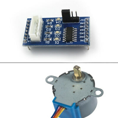 28BYJ-48 2003 Stepper Motor Driver Module for Arduino + DC 5V Stepper Motor top