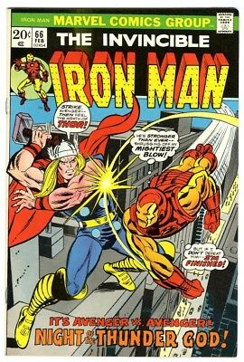 Iron Man #66 (1974) VF/NM New Original Owner Marvel Comics Collection