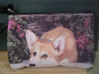 "Corgi   ~    ""  Life Is Ruff In My Secret Garden "" Coin Purse"