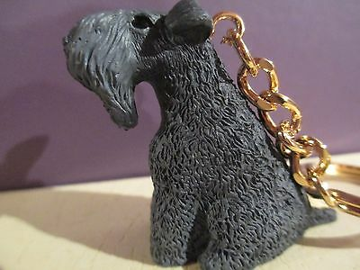 Kerry Blue Terrier ~ Key Chain ~ Great Gift Item