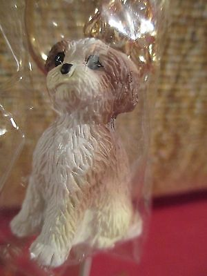 Shih Tzu Tan Sport Cut  ~  Key Chain ~ Great Gift Item