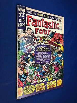 Fantastic Four Annual #3 (1965 Marvel) Wedding of Reed Richard and Sue Storm