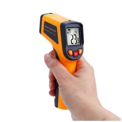 Non-contact IR Infrared LCD Temperature Measurement Pyrometer -50 to 600°C