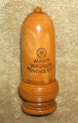 Early 1900's S. Maw, Son & Sons Wooden Treen Medical Case