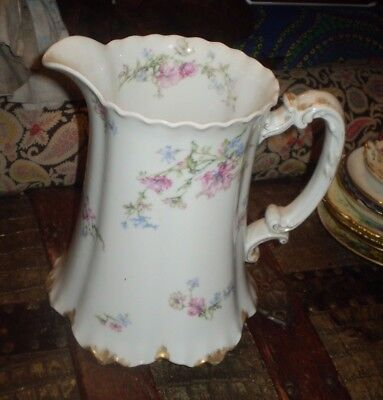 Antique Haviland Limoges France pitcher