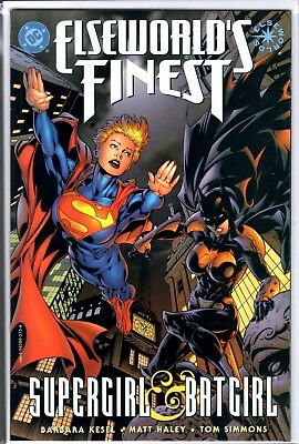 DC Comics ELSEWORLD'S FINEST SUPERGIRL & BATGIRL PRESTIGE  KESLEY HAYLEY SIMMONS