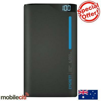 Cygnett ChargeUp Digital 6000mAh Power Bank - Blue Grey