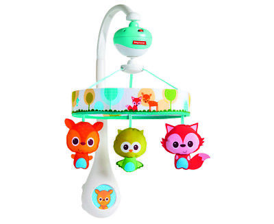 Tiny Love Tiny Friends Lullaby Mobile - Multi