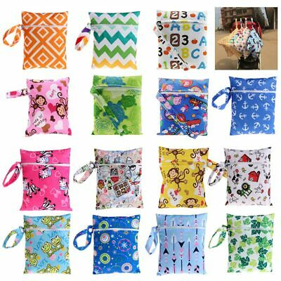 Changing Bag Nappy Baby Diaper Washable Waterproof Organizer Pram Storage Lovely