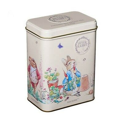 Delightful Peter Rabbit Tin - 40 T-bags - English Breakfast Tea - Beatrix Potter