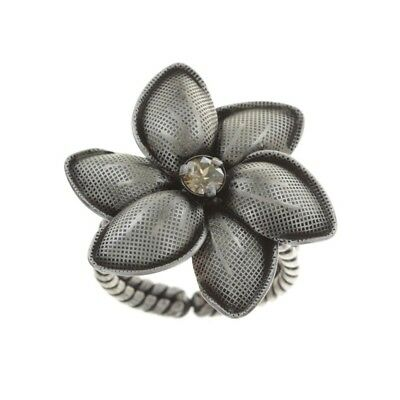 Konplott Ring Blossoms of the Past beige small silber