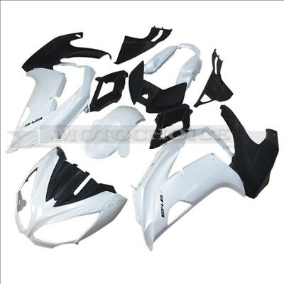 ABS Injection Fairing Mold Kit for Kawasaki NINJA 650 ER6F 2012-2015 White Black