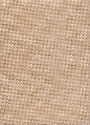 18 count Zweigart Aida Cross Stitch Fabric FQ 49 x 54 cms Vintage Beige