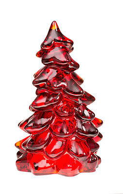 """Christmas Tree - Mosser - Red Glass - Large 8"""""""