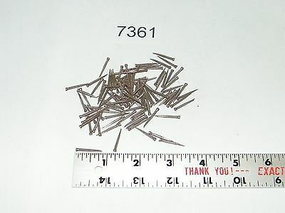"100 New Vintage Square Cut Nails 13/16"" Long Tapered"