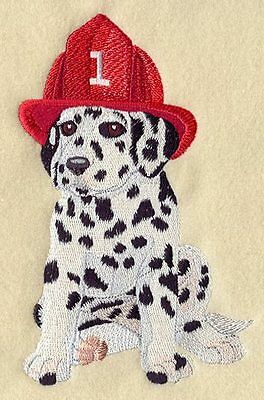 Embroidered Short-Sleeved T-Shirt - Dalmatian Puppy I1270 Sizes S - XXL