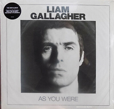 OASIS LIAM GALLAGHER LP As You Were VINYL 180g Album Wall Of Glass For What It's