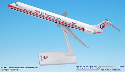Flight Miniatures China Eastern MD-82 1:130 Scale Plastic Model