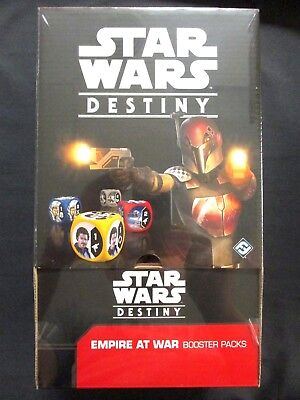 OEJ ~ Star Wars Destiny ~ Empire at War Booster Display Box ~ 36 Packs SEALED