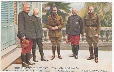 WW1 The King at the Front (1918)