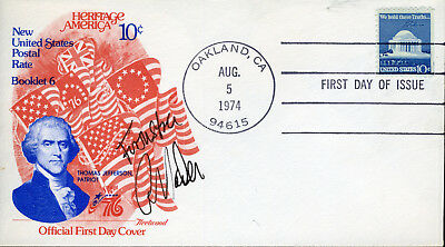 Ralph Nader Presidential Candidate & Political Activist Signed Fdc