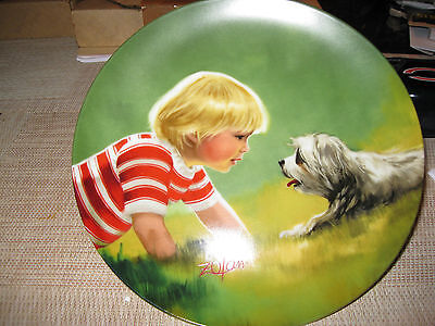"""""""making Friends"""" By Donald Zolan 3Rd In Children & Pets Collection"""