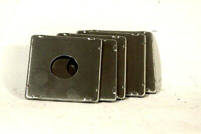 lens boards for Speed graphic, (crown, super) 4x5 press cameras, zero hole