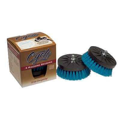 Cyclo Aqua Soft Carpet Brush, Pair Cyclo Model 5 Pro Buffer Polisher Scrubber